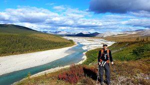 Dr. Mike Weintraub in Alaska in Aug. 2018